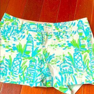 Lily Pulitzer Nautical Shorts